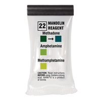 Sirchie - NARK II Mandelin Reagent (Methadone) - Box of 10