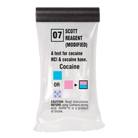 Sirchie - NARK II Scott Reagent modified (Cocaine Salts/ Base) - Box of 10