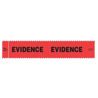 Sirchie Evidence Integrity Strips Red (EVIDENCE) - Roll of 100