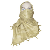 "5ive Star Shemagh Desert Scarf 42"" x 42"" Coyote 3744000"