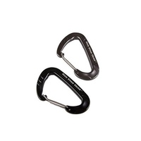 5ive Star Gear Wiregate Carabiner - 2 Pack