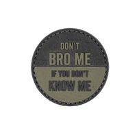 5ive Star Gear Don't Bro Me Morale Patch
