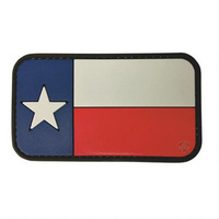 5ive Star Gear PVC Morale Patch Texas Flag