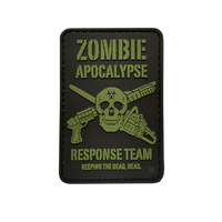 5ive Star Gear PVC Morale Patch Zombie Apocalypse