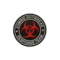 5ive Star Gear PVC Morale Patch Zombie Outbreak