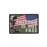 5ive Star Gear PVC Morale Patch Freedom is Not Free Patch