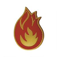 5ive Star Gear PVC Morale Patch Fireball