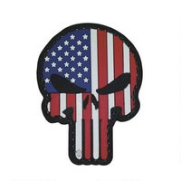 5ive Star Gear PVC Morale Patch Punisher Patriotic