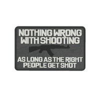 5ive Star Gear Nothing Wrong Morale Patch