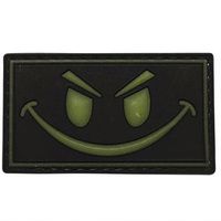 5ive Star Gear PVC Morale Patch Glow Smile