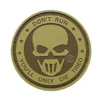 5ive Star Gear PVC Morale Patch Dont Run Ghost