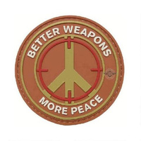 5ive Star Gear PVC Morale Patch Better Weapons