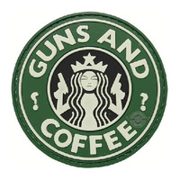 5ive Star Gear PVC Morale Patch Guns and Coffee