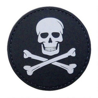 5ive Star Gear PVC Morale Patch Jolly Roger