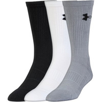 UA Elevated Performance Crew Sock (3 Pack)