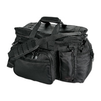 Uncle Mikes Black Side-Armor Patrol Equipment Bag