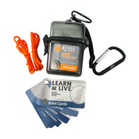 Ultimate Survival Technologies - Learn & Live Kit - Knot Tying
