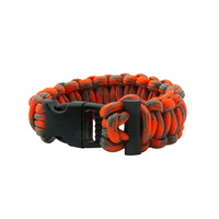 Ultimate Survival Technologies - ParaTinder Bracelet with Flint Firestarter