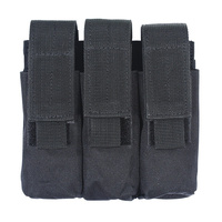 Voodoo Tactical Triple Pistol Mag Pouch