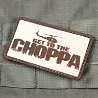 Violent Little Machine Shop - Get To The Chopper Predator Morale Patch