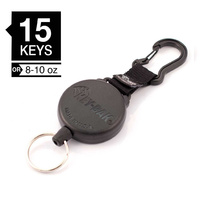 Key-Bak SECURIT: 48in Heavy Duty Kevlar Cord with Carabiner