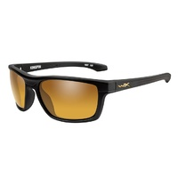 Wiley X Kingpin | Polarised Gold Mirror w/ Matte Black Frame