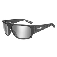 Wiley X Vallus | Silver Flash Mirror Lens w/ Graphite Frame
