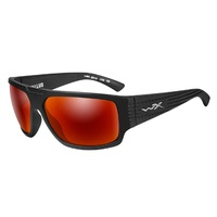 Wiley X Vallus | Polarised Crimson Mirror w/ Matte Black Frame