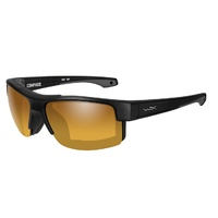 Wiley X Compass | Polarised Gold Mirror w/ Matte Black Frame
