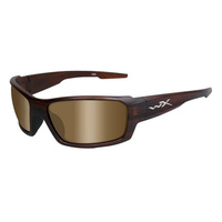 Wiley X Rebel Matte Tortoise Frame Polarized Bronze Lens