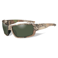 Wiley X Rebel Realtree XTRA Camo Frame Polarized Smoke Green Lens