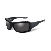 Wiley X Knife Black Ops Sunglasses with Smoke Grey Lens Matte Black Frame