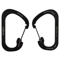 Nite Ize SlideLock Carabiner Stainless Steel #6 - Black