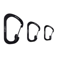 Nite Ize SlideLock Carabiner Stainless Steel - Pack of 3
