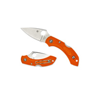 Spyderco Dragonfly 2 Lightweight Orange Folding Knife