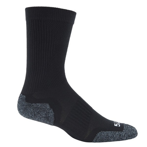 5.11 Tactical Slip Stream Crew Sock [Colour: Black] [Size: Small]