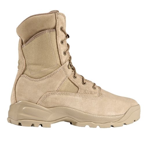 5.11 A.T.A.C. 8inch Side-Zip Coyote Boots [Size: 4.0 US - Regular]