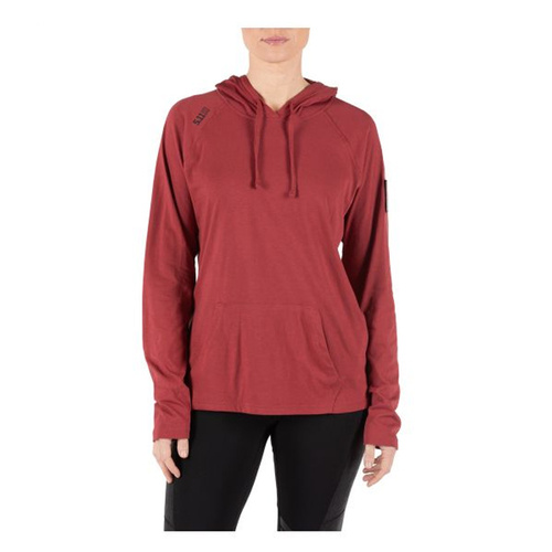 5.11 Tactical Women's Cruiser Performance Hoodie [Colour: Cabernet] [Size: Small]