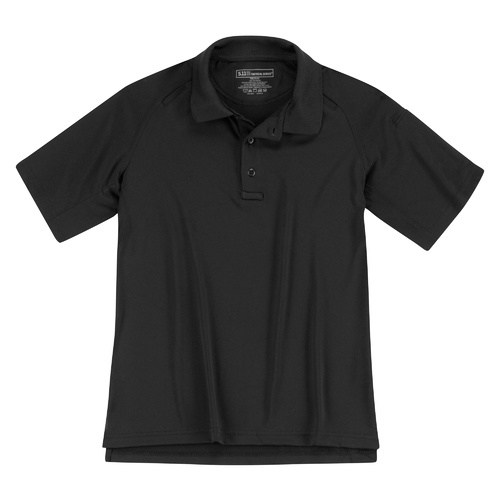 5.11 Women's Short Sleeve Performance Polo [Colour: Black] [Size: Small]