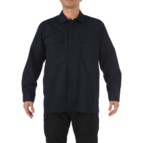 5.11 Tactical TDU Long Sleeve Shirt [Colour: Dark Navy] [Size: Medium]