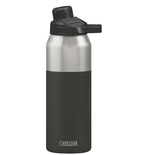 CamelBak Chute Mag Stainless Steel Vacuum Insulated 1L Bottle [Colour: Jet]