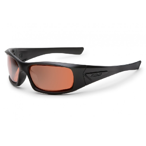 ESS 5B Sunglasses Black Frame Mirrored Copper Lenses