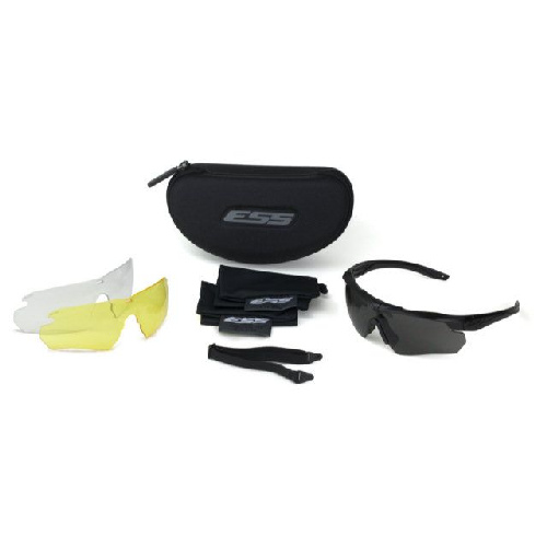 ESS Crosshair 3 Lens - Clear, Smoke Gray & Hi Def Yellow Lenses
