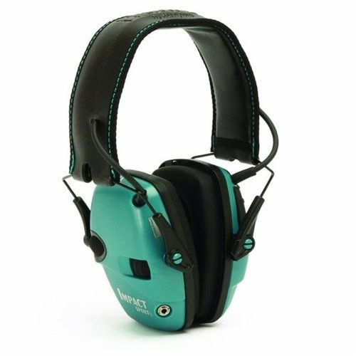Howard Leight Impact Sport Electronic Earmuff [Colour: Teal]