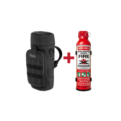 Fire Extinguisher + MOLLE Pouch Combo
