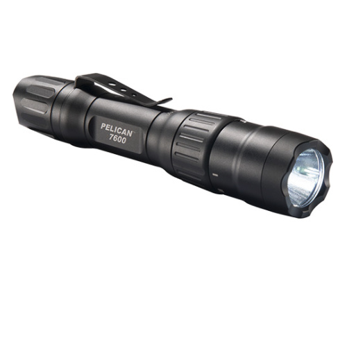 Pelican 7600 3 Color Rechargeable Tactical Flashlight 900 Lumens