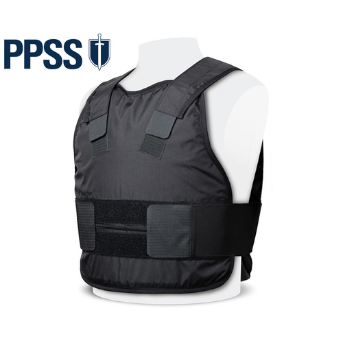 PPSS Covert KR1 Stab Resistant Vest [Colour: Black] [Size: Extra Small]