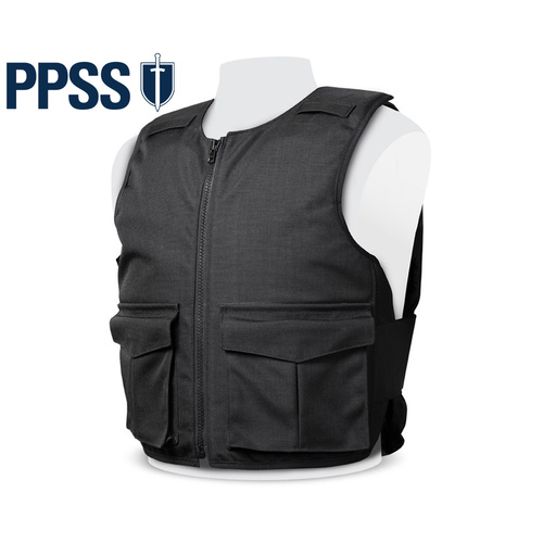 PPSS Overt KR1 Stab Resistant Vest [Size: Extra Small]