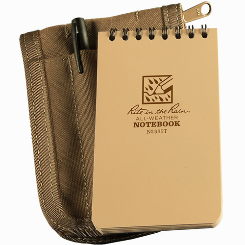 Rite-In-The-Rain Tactical Notebook Kit Tan Cover