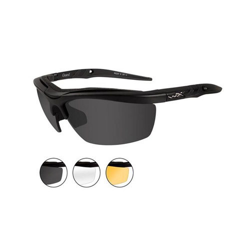 Wiley X Guard 3 Lens Sunglasses